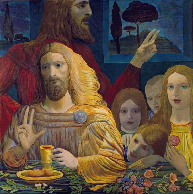 Ernst Fuchs: Padre del realismo fantástico - TrianartsTrianarts - born in viena 1979