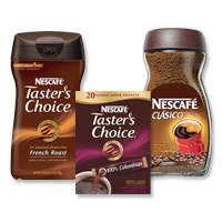 $1.50 off two NESCAFÉ® TASTER'S CHOICE® or CLASICO™