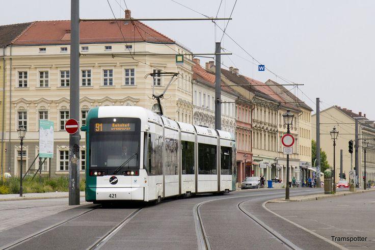 Stadler Variobahn Tram In Potsdam Germany Potsdam Germany