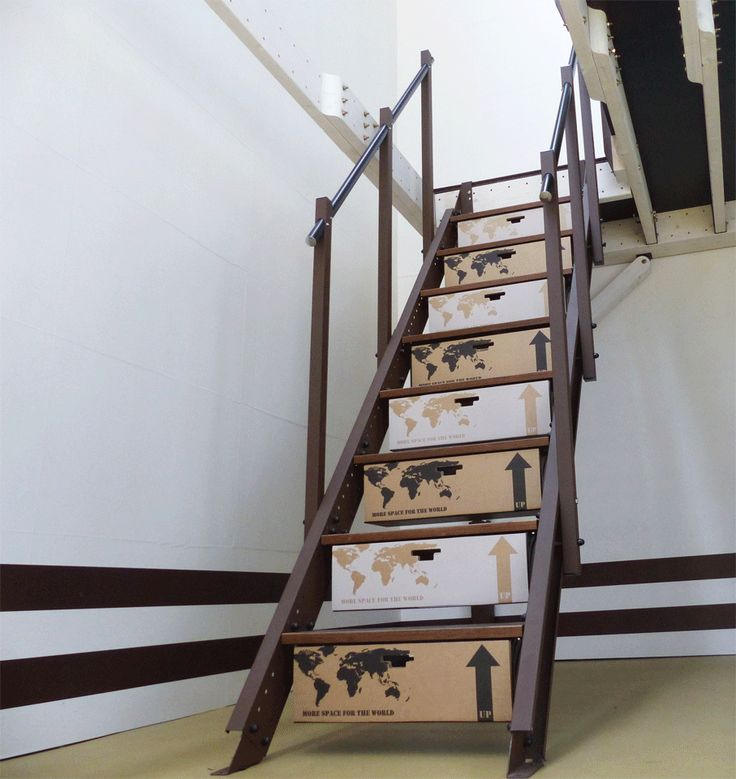 Mejores 7 im genes de escaleras para altillo en pinterest for Contrahuella escalera