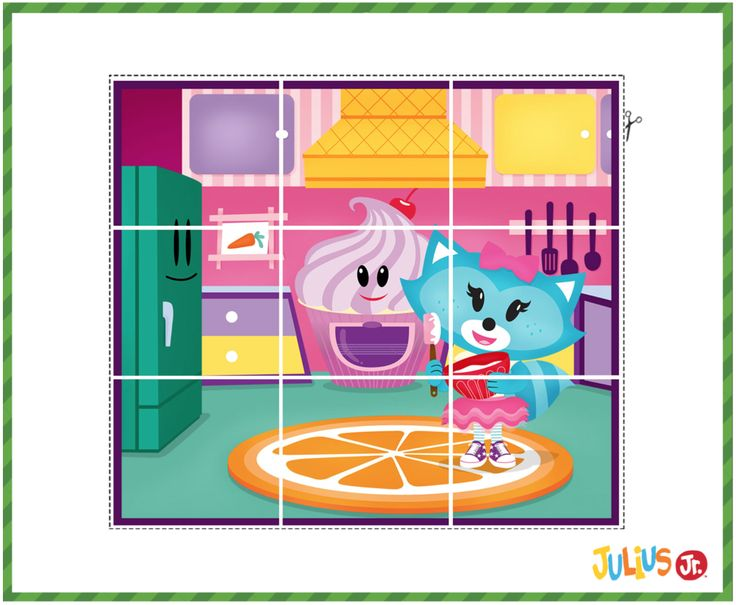Sheree loves baking! Print out new Julius Jr. puzzle and
