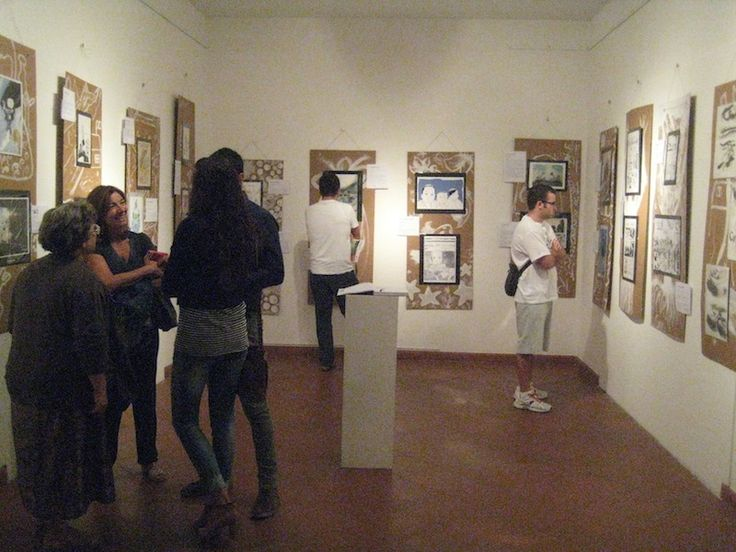 Visitatori della mostra 3