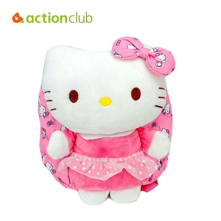 Hello Kitty Baby Plush Backpacks Cartoon Children School Bags Baby Toy Dolls Bags For Kindergarten Kids Baby Girl Bag HK1304 #>=#>=#>=#>=#> Click on the pin to check out discount price, color, size, shipping, etc. Save and like it!