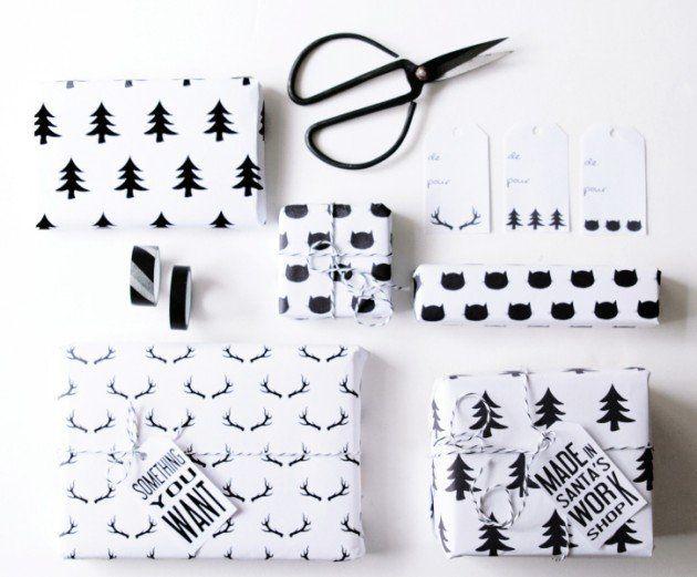 Papier Cadeau à Imprimer Gratuitement Papier Cadeau à