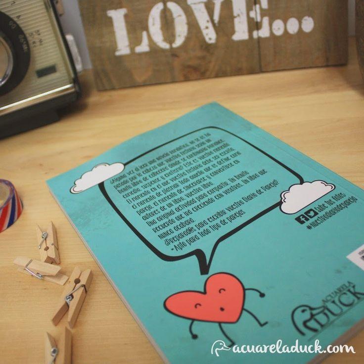 Idea para regalar libro nuestro diario de pareja regalo - Regalos parejas originales ...
