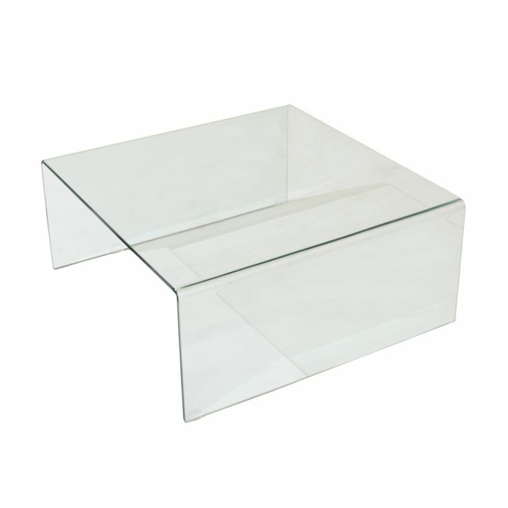 Lenox Square Glass Coffee Table 36 X