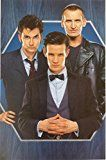 #8: Doctor Who with David Tennant Matt Smith and Christopher Eccleston 11 x 17 Poster Lithograph