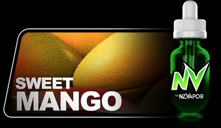 Sweet Mango NV Juice (e-juice) has the full taste of sweet, fresh, ripe mango. Exactly as you would imagine it. Each vape satisfies with an initial sweet tartiness and an enduring fruity and light exhale.  All products in the NV JUICE range are designed to offer the highest vapour production available.