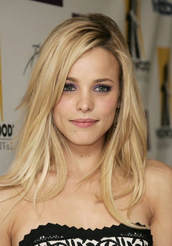 love the cut + color (p.s. Rachel McAdams looks so much better as a blonde in my humble (blonde) opinion)