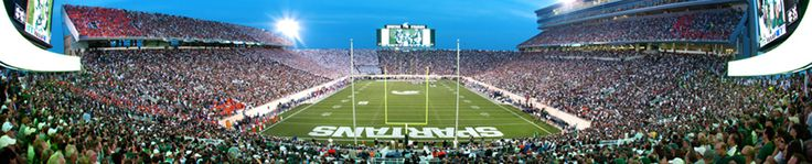 Michigan State Official Athletic Site - Facilities  (Facts about Spartan Stadium)