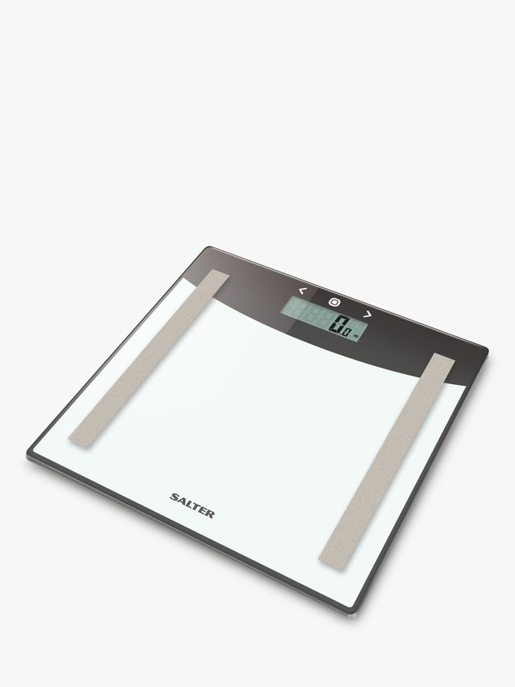 Salter Glass Body Analyser Bathroom Scale Bathroom Scale Glass