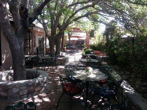 Magic Bistro, El Paso, TX   Known For Its Charming Garden, The Magic