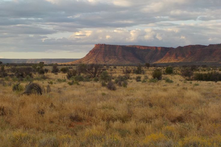 Ranges near Kings Canyon, NT Australia