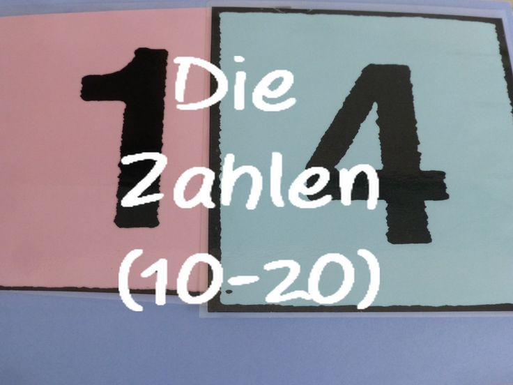 Learn German: Die Zahlen (10-20)