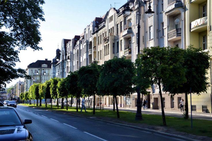 Boulevard of Adam Mickiewicz, Bydgoszcz, Poland
