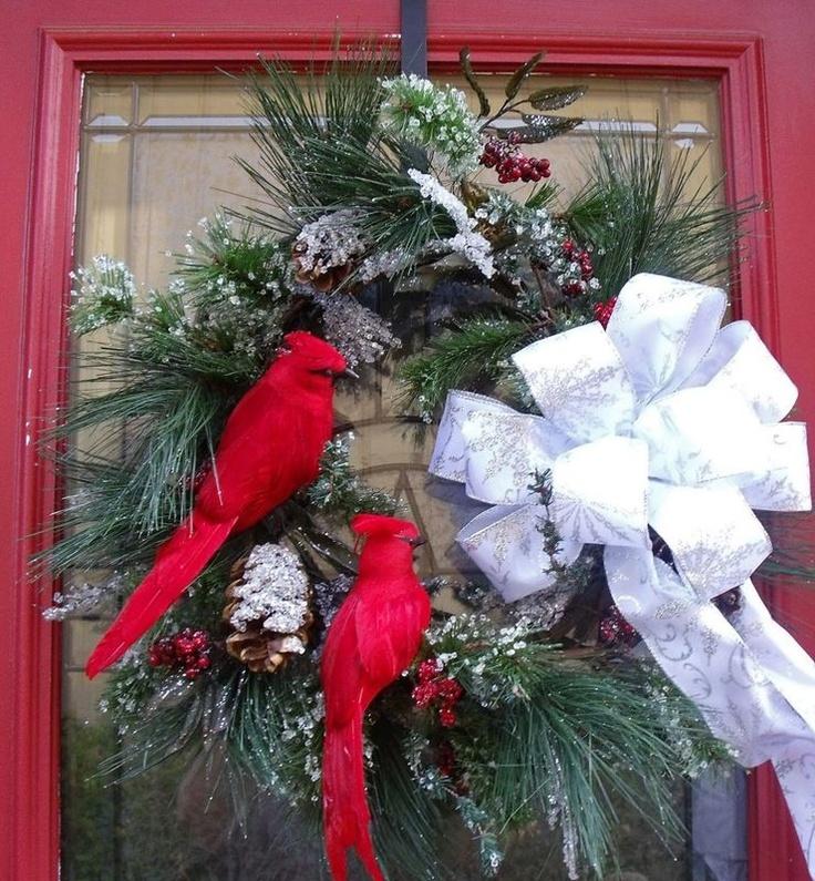 126 best Red Bird Christmas Ideas images on Pinterest ...