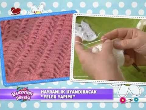 """Derya Baykal-Deryanın Dünyası-""""Yelek yapimi""""-02.04.2014"""