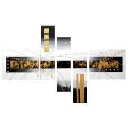 Tableau Peinture Abstrait Pépite d'Or