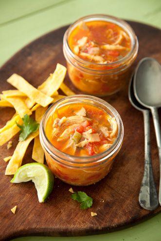 Paula Deen Tortilla Soup