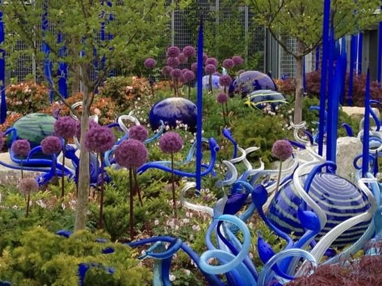 Chihuly Garden and Glass,  Seattle Washington. Oh, Chihuly, you beast!!!