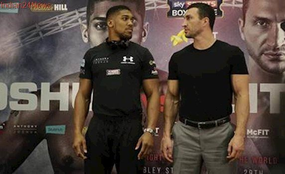 Anthony Joshua against Wladimir Klitschko fight to equal British crowd record