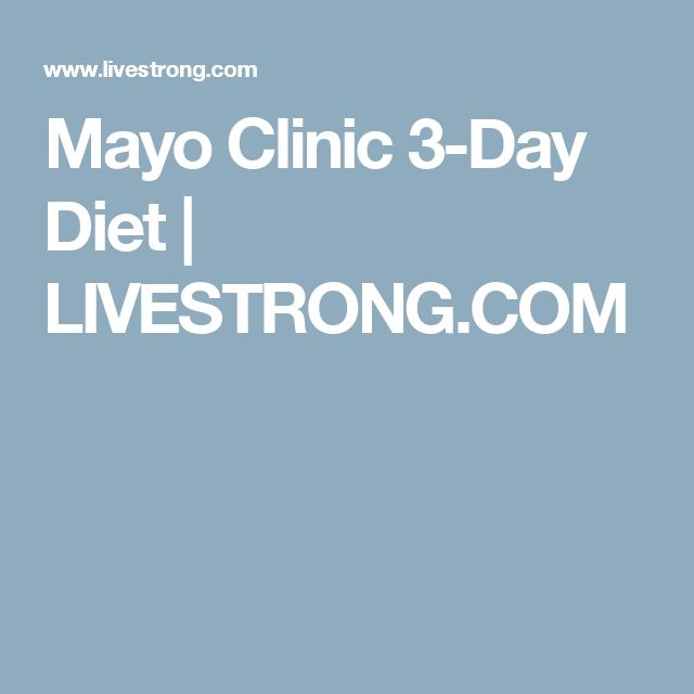 The old Mayo Clinic diet of the 60's that really works