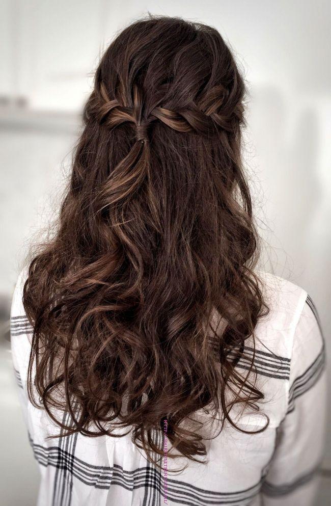 Prom Hair Weddingupdos Special Hairstyles In 2019 Pinterest Prom Hair Hair And Hair Styles In 2020 Prom Hair Down Hair Styles Simple Prom Hair