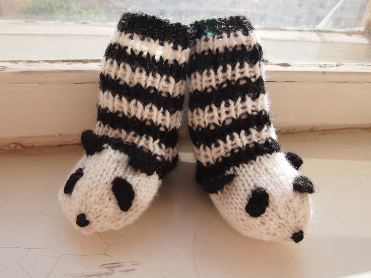 Panda baby socks Tanssivat kädet - Dancing hands