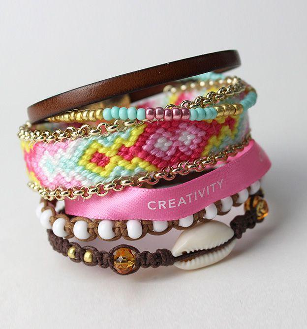 Kreatives Armband aus unserem Buch 'Emotionz - Armbänder für jede Stimmung'