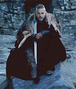 Best season finale closing shot in tv history: King Ragnar Lothbrok