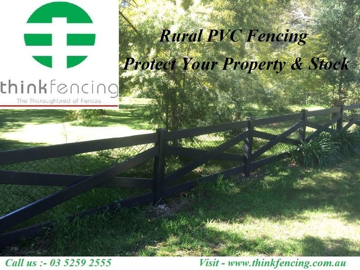 Best #Rural & #Farm #Fencing Supplier & Manufacturer in Australia. Think Fencing supplies #PVC fencing for all your fencing needs from homes to #horses.