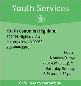 Youth Center - Los Angeles LGBT Center - For homeless LGBTQ teens in the LA area