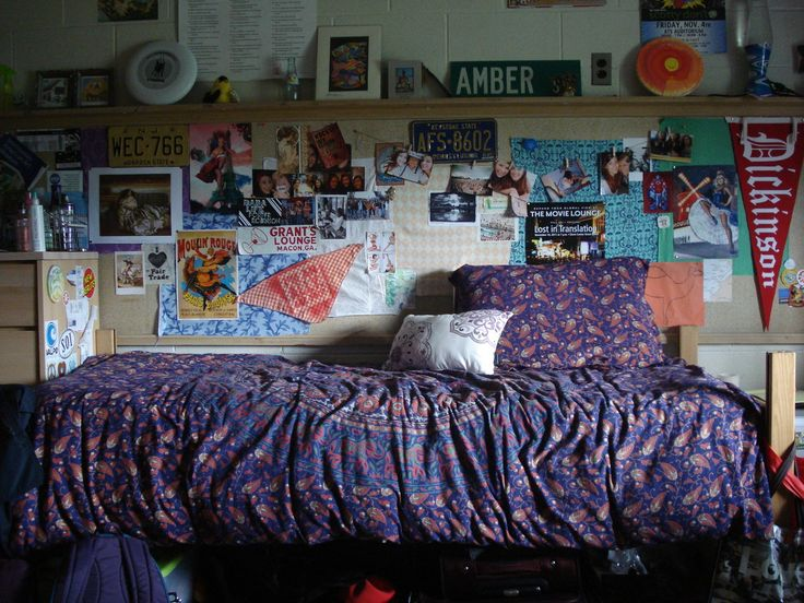 Dickinson College Dorm (love The Walls! Part 66