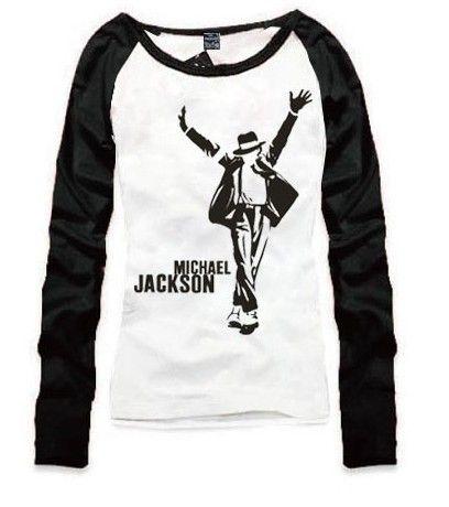 Michael Jackson long sleeve T shirt - michael-jackson Fan Art