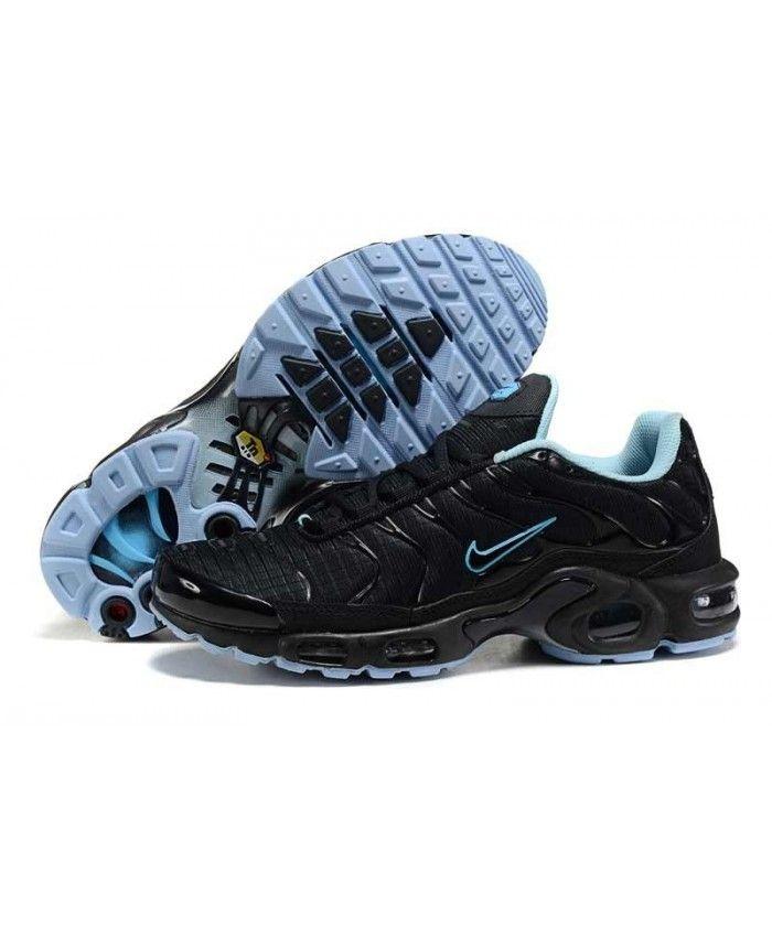 Homme Nike Air Max TN Noir LumièRe Bleu Chaussures | Nake в