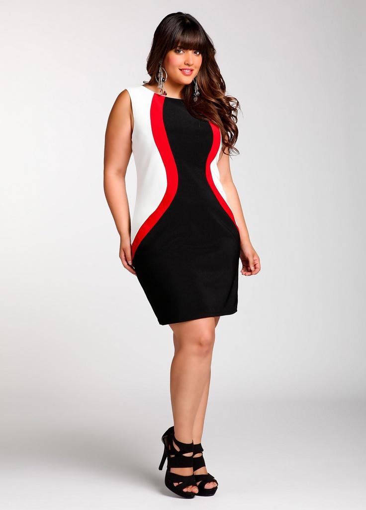 Sheath Dress $49.50: Size Shops, Plus Size, Ashley Stewart, Beautiful, Size Fashion, Size Clothing, Ashleystewart Com, Curvy Fashion, Sheath Dresses