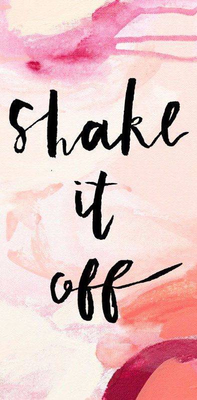 Shake it off | cynthia reccord