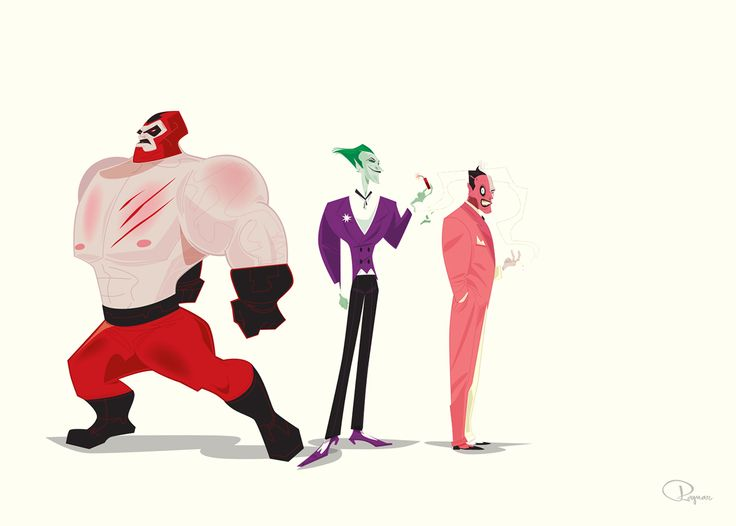 Character Designs for Disney, WB etc.