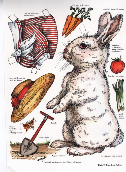 Bunny....my sister and I used to spend hours playing with paper dolls and things cut out from old catalogs.