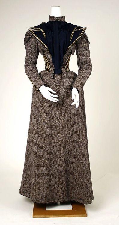 Walking dress | Met Museum | c. 1893