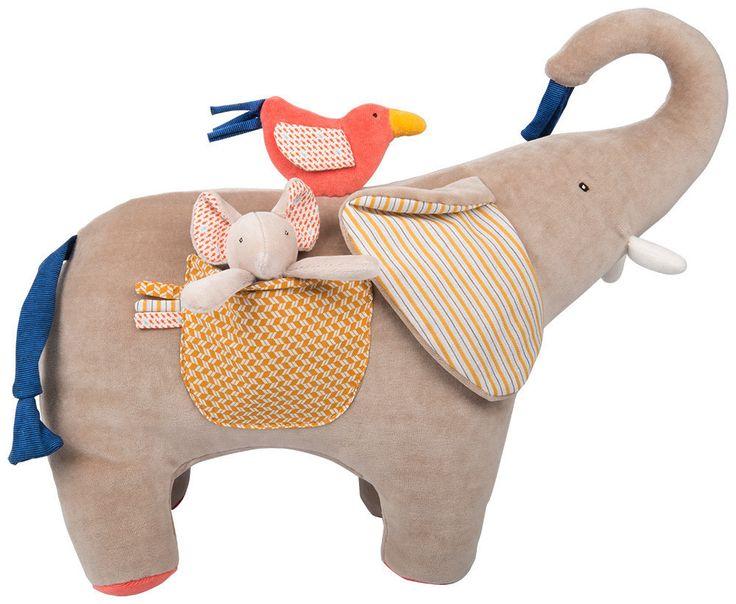 Activity elephant Les Papoum - Moulin Roty