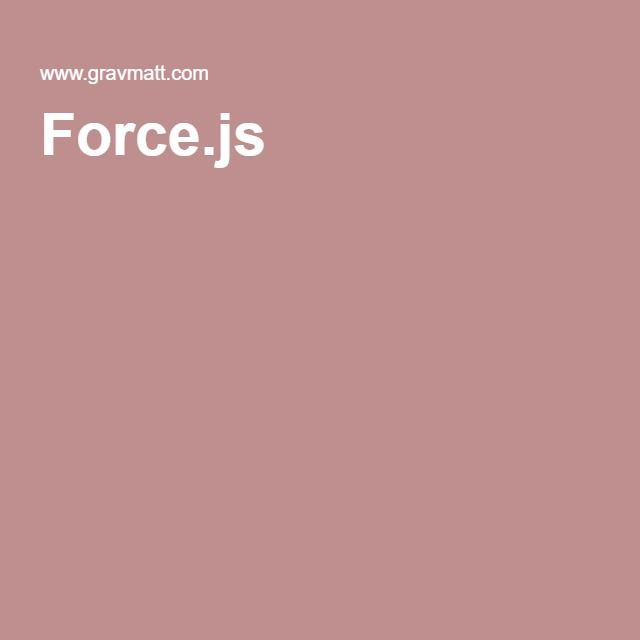 Force.js