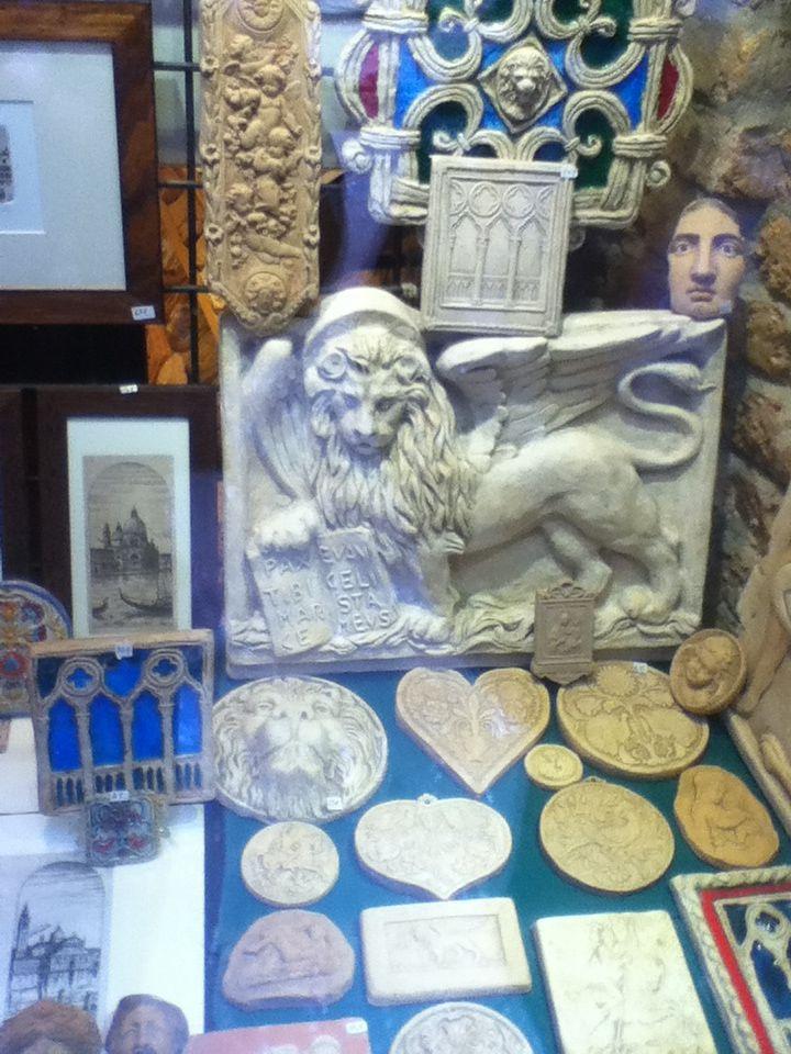 Arte em argila - loja em Veneza II