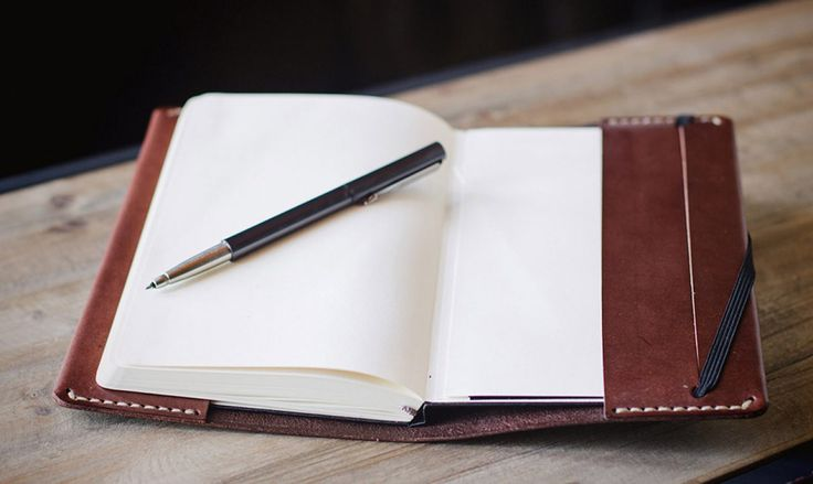 Leather Moleskine cover | Cocuan | Handcrafted leather in Barcelona