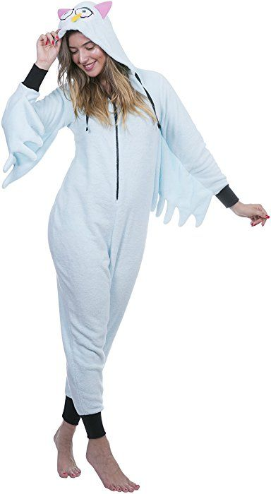 afdf1dcf95 Totally Pink Women s Plus Size Warm and Cozy Plush Adult Onesie Pajamas  Onesies (