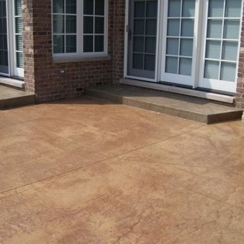 Stained Concrete Patios | Stained Concrete Patio Sealer