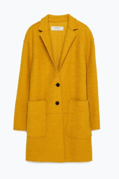Zara Wool Coat, £59.99