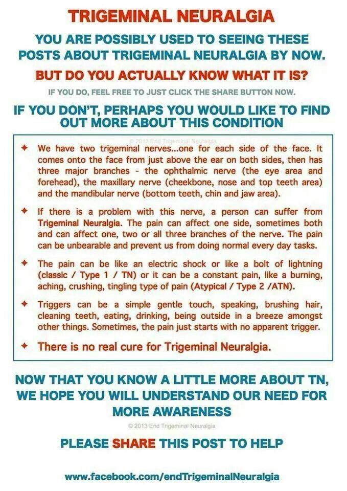 This is about what Trigeminal Neuralgia is.