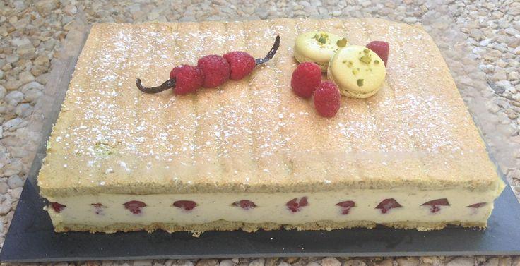 framboisier pistache creme mascarpone pistache gateau facile de fete des meres