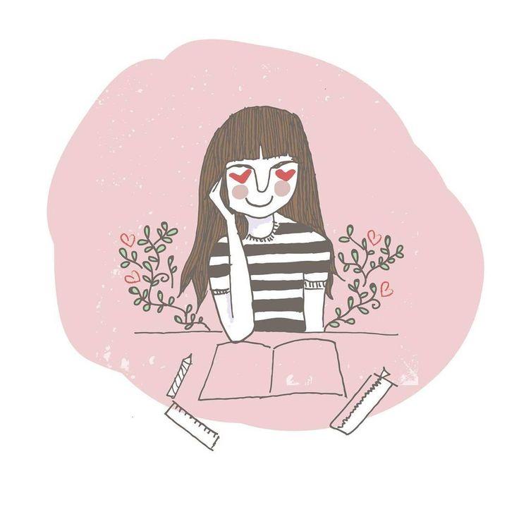 { Ataque de amor 💓 }  .  .  .  .  .  #myunicornlife #pastelminimal #loveu #diarioilustrado #illustrateddiary #ilustracion #illustration #sketch #lahappicidad